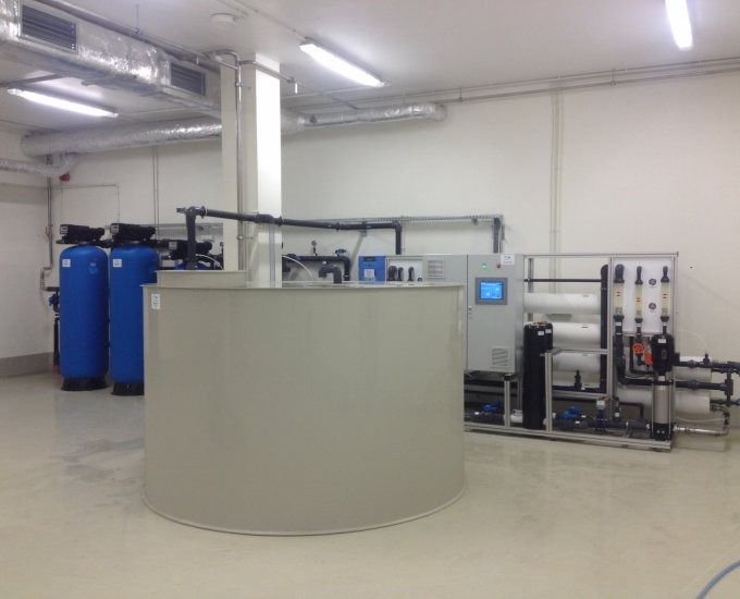 "Water conditioning plant ""UMICORE"""